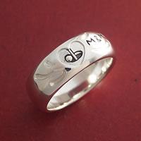 ゴルフをモチーフとした指輪