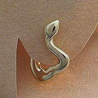 K18YG蛇のピアス