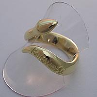 K18YG蛇の指輪